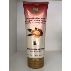 Восстанавливающая маска для волос с маслом Марокканской Арганы для сухих и поврежденных волос, H&B Restorative Hair Mask with Argan Oil 200ml