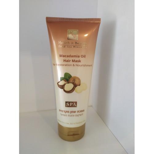 Маска для восстановления и питания волос с маслом Макадамии, H&B Macadamia Oil Hair Mask 200ml