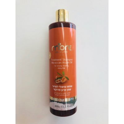 More Beauty Treatment Shampoo Moroccan Argan Oil 400ml