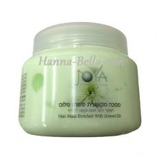 Профессиональная маска для сухих поврежденных волос на основе льняного масла, Treatment Hair Mask Enriched with Linseed oil , 500мл