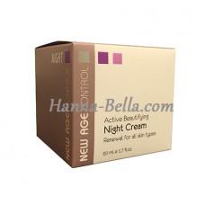 Активный крем, Active Beautifying Night Cream New Age Control, Anna Lotan