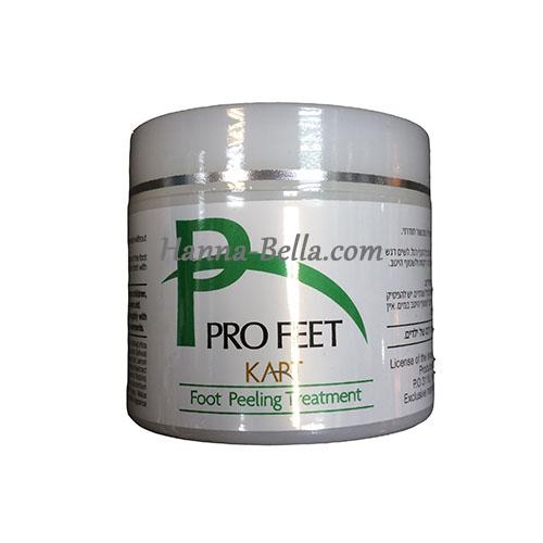 Энзимный пилинг для ступней, Kart ProFeet Foot Enzymatic Peeling, 100 ml