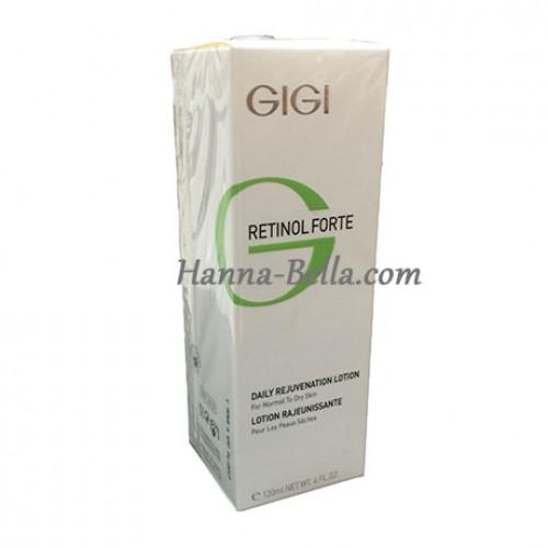 Ежедневное омоложение для нормальной и сухой кожи, GIGI RETINOL FORTE REJUVENATION LOTION FOR DRY SKIN, 120мл