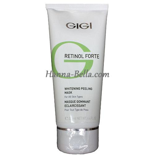 Buy GIGI RETINOL FORTE WHITENING PEELING MASK, 250мл