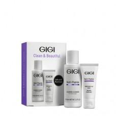 Дорожный набор Clean & Beauty Nutri-Peptide GiGi