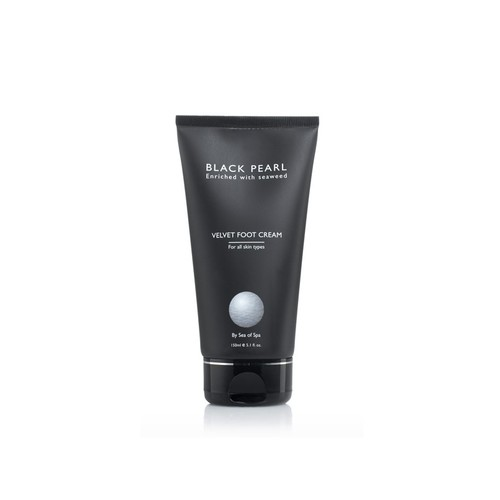 Бархатистый крем для ног Black Pearl Velvet Foot Cream 150 ml